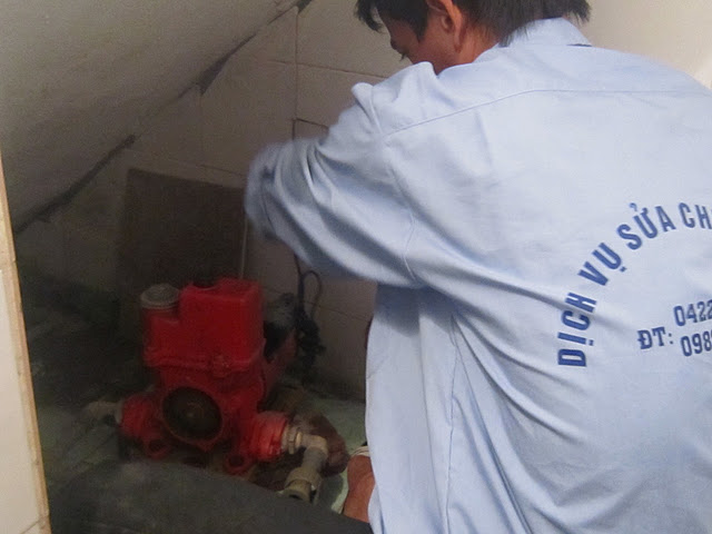 Bảo dưỡng máy bơm tại nhà chuyên nghiệp