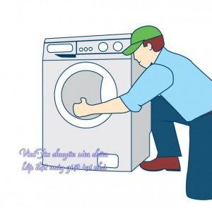 lắp đặt máy giặt tại nhà