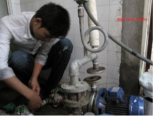 Sửa máy bơm chuyên nghiệp tại Hà Nội